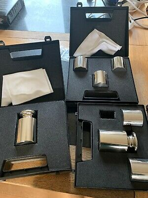 3x Sets Stainless Steel Calibration Check Weights