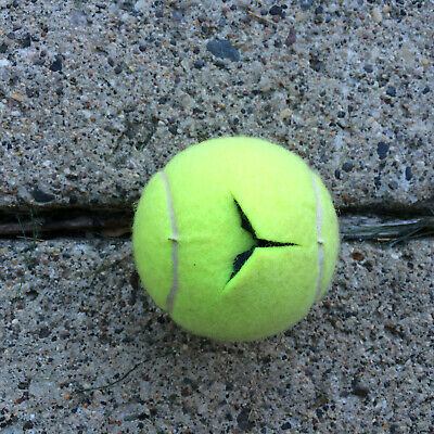 100 used pre cut  tennis balls for chairs,walkers