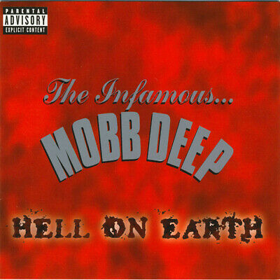 "MOBB DEEP ""HELL ON EARTH"" CD Loud Records 2000 NUOVO SIGILLATO"
