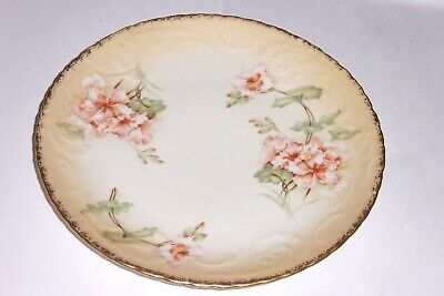 Unmarked German Or Austrian Set Of 4 Plates