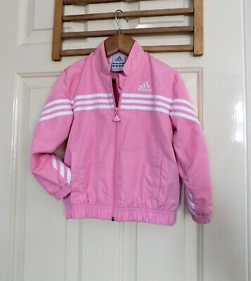 Girls ADIDAS Pink Jacket size 2-3 years old