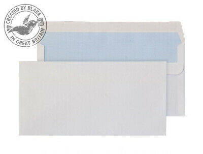 Blake Purely Everyday White Self Seal Wallet DL 110X220mm 100gsm (Pack 500) - 77