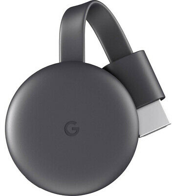 Google Chromecast 3 Smart TV dongle Full HD HDMI Carbon - GA00439-NL