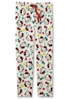 Hello Kitty Womens Pajamas Pants Size Small,Large,XL Soft Fleece 6-12-16 NEW NWT