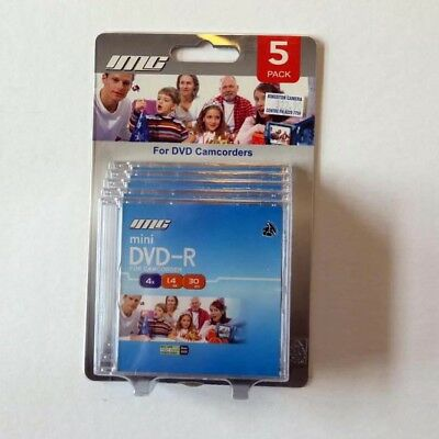 IMG Brand CAMCORDER 8CM MINI DVD-R writeable disk - five-pack