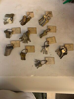 Locksmith space & Depth keys lot