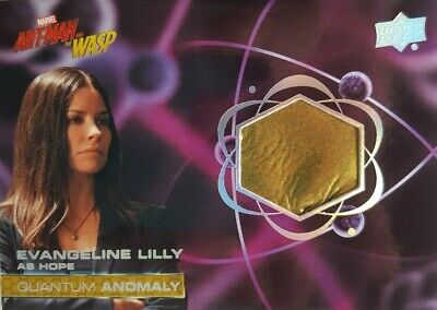 2018  Ant-Man and the Wasp Quantum Anomaly Relic Card QM14 Evengeline Lilly HOPE