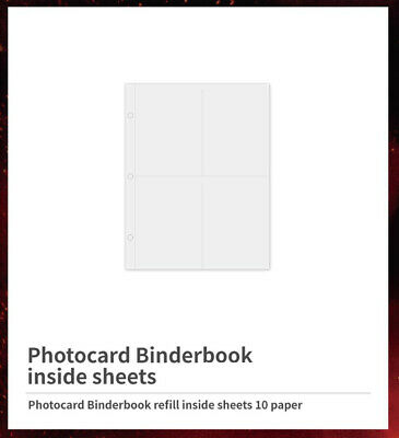 Loona Looпδ # Showcase Official Goods Photocard Binder Book Inside Sheets New