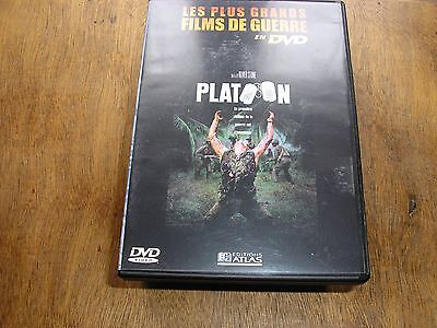 "DVD guerre,""PLATOON"",tom berenger,willem dafoe,charlie sheen,f whitaker,(4867)"