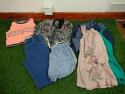 Girls Age 11-12 Years Clothes Bundle Next River Island 7 Items B336