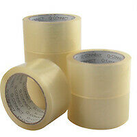 Q-Connect Packaging Tape Low Noise Clear - Kf04382