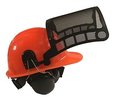 Forester Chainsaw Helmet System (Forestry Bucking Wedge Tree Felling Protection)