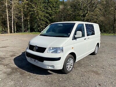 Vw t5 1.9 swb low miles day van / camper