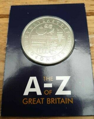 The A-Z Of Great Britain 10p Collection Medalion 2018 / 2019 Coin Hunt Medal