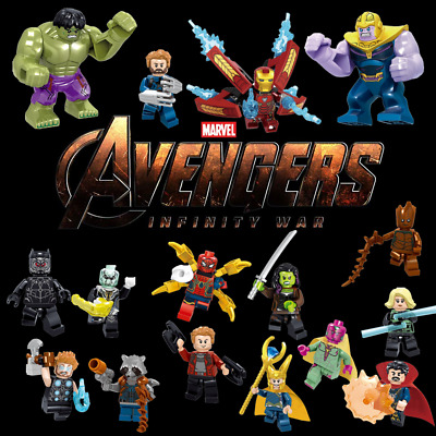 Marvel Super Heroes Avengers Infinity War 24 Minifigures Lot For Lego - USA