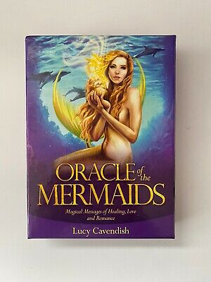 Oracle of the Mermaids Deck and Book Set by Selina Fenech Fantasy Fae Cards