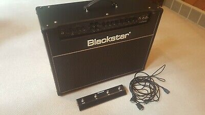 Blackstar HT Stage 60 MKII 60W 2x12 Tube Guitar Combo Amp Black Footswitch 3