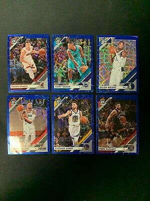 2019-20 Panini Donruss Optic Basketball Blue Velocity Singles - You Pick