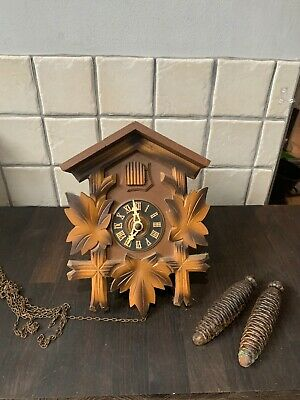 Vintage German Cuckoo Clock Spares
