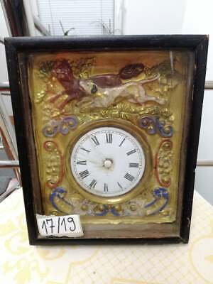 Wall Clock Case for restoration Antiques
