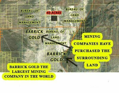 Eureka Nevada 40+/-Acres Mineral Included in Gold District
