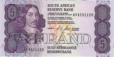South Africa, ND (1990-1994) 5 Rand P-119e   ((Unc))