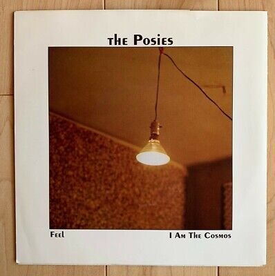 """The Posies Feel / I Am The Cosmos 1992 7"""" 45rpm Vinyl Big Star Record"""