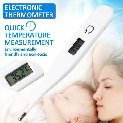 Digital LED Thermometer Home Baby Adult Body Safe Oral Electronic Thermometer