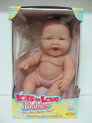 "Berenguer Lots to Love Babies 14"" Soft Vinyl Doll 2001 JC Toys Group NIB"
