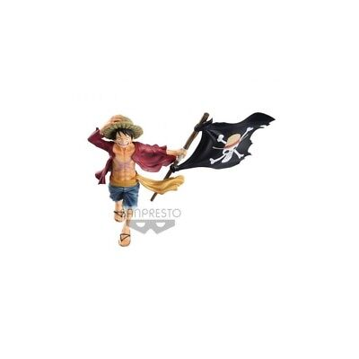 One Piece figurine magazine Monkey D Luffy Banpresto