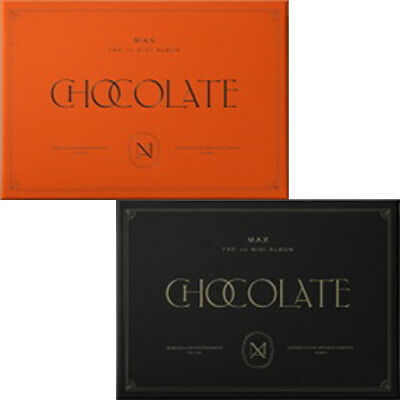 TVXQ MAX CHANGMIN [CHOCOLATE] 1st Mini Album CD+POSTER+Photo Book+2p Card SEALED