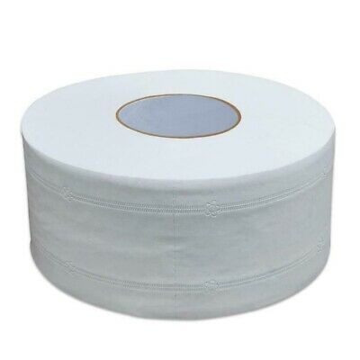 Premium Jumbo Toilet Paper Roll White 4 ply 1 Roll Kitchen Industrial Towels
