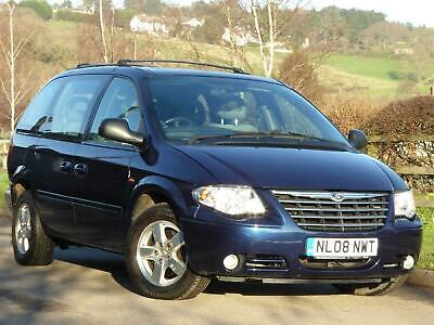 2008 Chrysler Grand Voyager 2.8 CRD Executive Auto MPV DIESEL Automatic