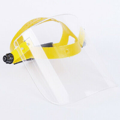 1x SAFETY FACE SHIELD With CLEAR FLIP-UP VISOR Shop Garden Industry Dental