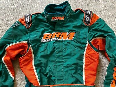 Sparco X-Light Brm Kart Karting Race Suit 03A