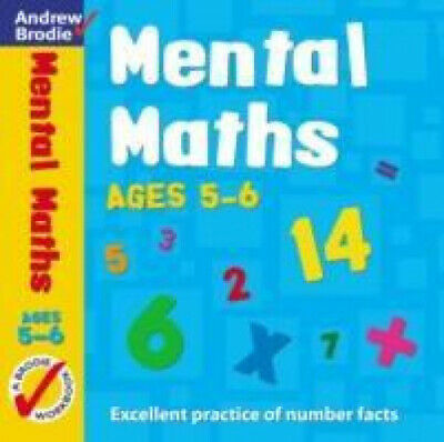 Mental Maths for Ages 5-6 (Mental Maths) by Brodie, Andrew.