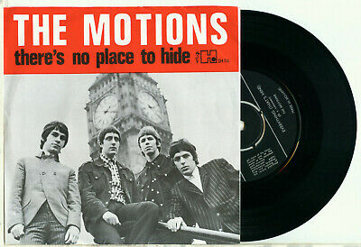 the MOTIONS Everything That's Mine 1966 DUTCH FREAKBEAT GARAGE NM VINYL SINGLE
