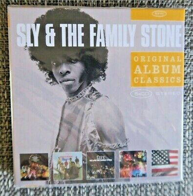 Sly & The Family Stone - Original Album Series 5CD Set 5  Albums + Bonus Tracks!
