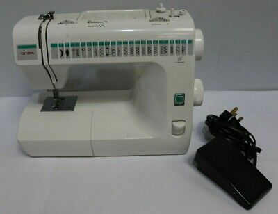 Toyota White Electric Sewing Machine RS2000 Series Model RA61- 250