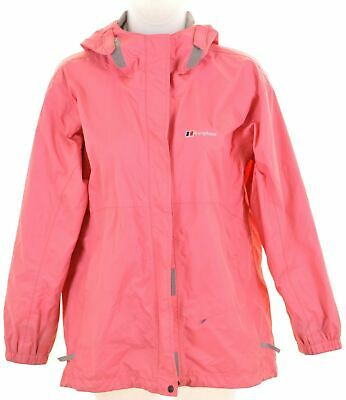BERGHAUS Girls Windbreaker Jacket 11-12 Years Pink Polyamide  LF32