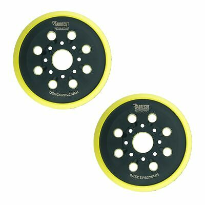 DFS Backup Pad with 35-holes for dust extraction Sanding Pad hard for Bosch GEX150 und PEX15 hard and soft available Hook and Loop sanding discs /Ø 6 150mm