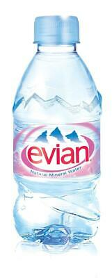 EVIAN Natural Mineral Water Bottle Plastic 330ml Ref 01310 [Pack 24] - 01310