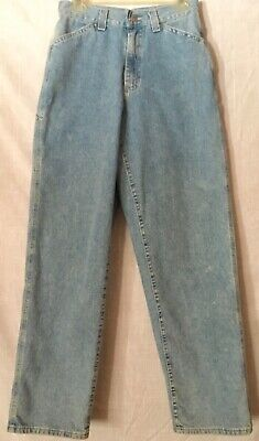 Vintage 90's Riveted By Lee Carpenter Jeans Stonewashed Made In USA Sz8 (30x32)