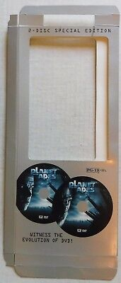 """Planet Of The Apes"" – Empty Dvd Movie Longbox – Long Box Only - No Dvd Or Case"