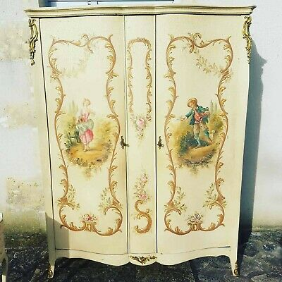 Antique French Armoire,Louis XV,Italian Bombe Style
