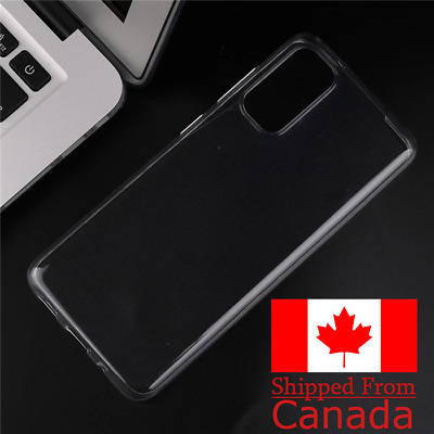Clear Transparent Case for Samsung Galaxy S20, S20+, S20 Ultra
