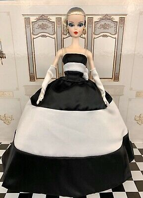 Barbie Silkstone Black and White Forever Outfit Complete
