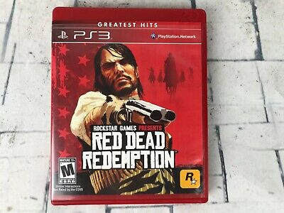 Red Dead Redemption (PlayStation 3) PS3 Complete w/ Map ~ VGUC