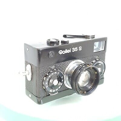 [Excellent] Rollei 35S BLACK | Carl Zeiss Sonnar 40mm f2.8 | Film Tested | 35SE