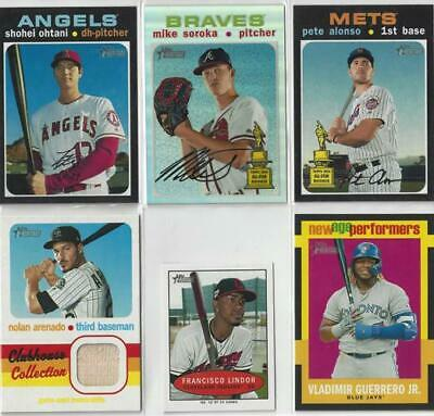 2020 Topps Heritage SP and Inserts -You Choose- 400-500 **Buy More, Save More**